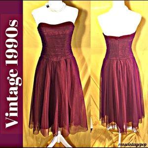 Scarlet Ballerina Prom Dance Dress